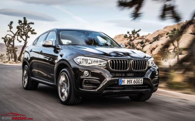 El nuevo BMW X6 parte de los 74.400 euros: Mayor equipamiento y mejor comportamiento garantizados