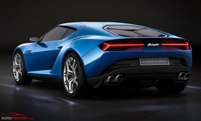 ¿Cómo funciona el sistema híbrido del Lamborghini Asterión LPI 910-4 concept?
