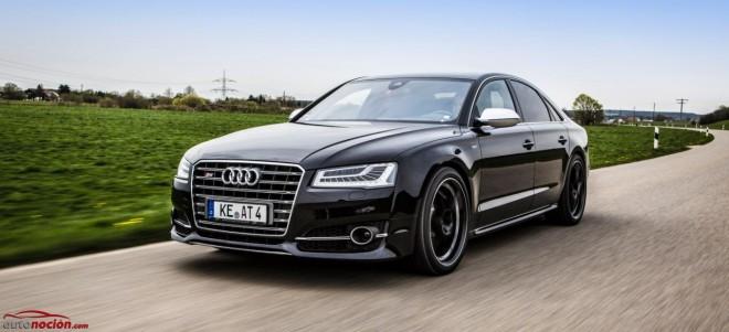 ABT le mete mano al Audi S8 y hace que acelere sus 2.065 kg de 0 a 100 km/h en 3.6 segundos