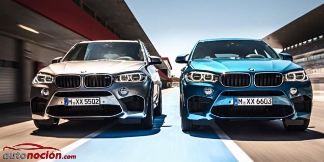 Nuevos BMW X5 M y X6 M: Las altas prestaciones de la familia X