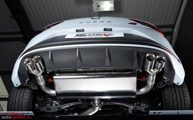 Milltek Sport mejora el sistema de escape del SEAT León CUPRA 280