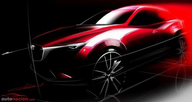 El Mazda CX-3 debutará en Los Ángeles a finales de Noviembre