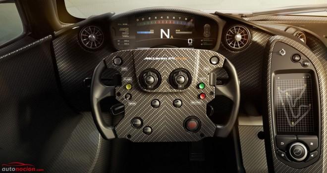 P1 GTR: El McLaren más potente de la historia y sus primeros detalles