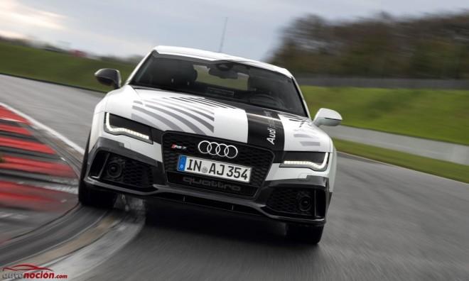 Audi RS 7 Piloted Driving Concept: El coche deportivo autónomo