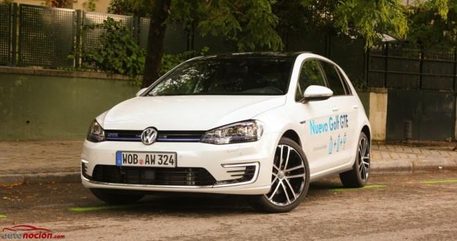 Prueba Volkswagen Golf GTE: Primer contacto con el Gran Turismo híbrido con enchufe