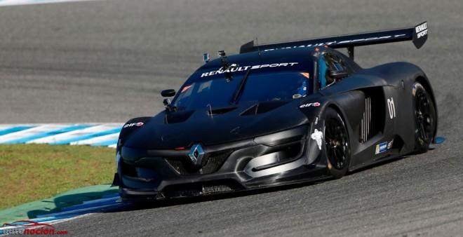 La nueva bestia gala, el Renault Sport R.S. 01, se estrena en Jerez