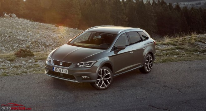 Seat Leon xperience frontal lateral
