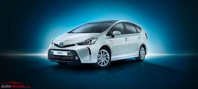 Toyota Prius+ 2015: El familiar híbrido ahora mejora