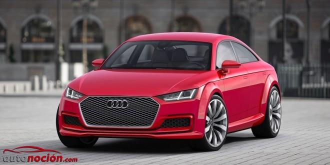 Así es, aquí lo tenéis: Audi TT Sportback, ¿Un concept con futuro?