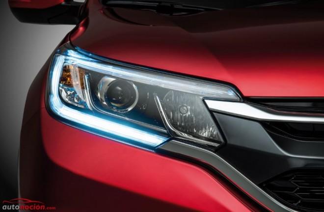 Honda muestra un renovado CR-V que llegará en 2015 con un motor 1.6 litros i-DTEC de 160 cv bajo el capó