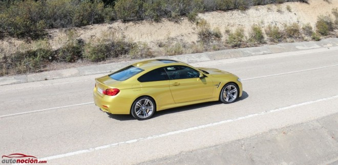 lateral bmw m4 coupe