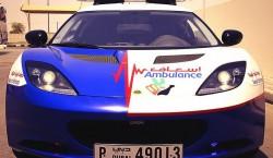 lotus evora ambulancia