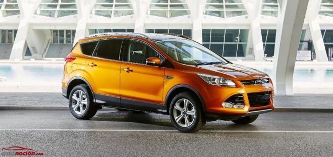 Ford introduce ciertas mejoras y renovadas motorizaciones en el Kuga