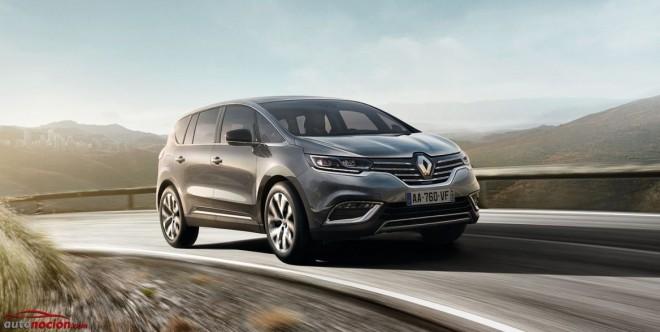 Nueva Renault Espace: Más robusta, más crossover y 250 kg más ligera