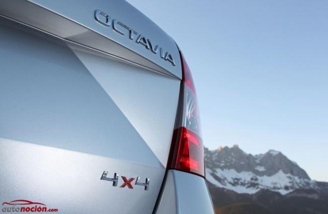 La familia 4×4 de Škoda crece de nuevo con el Octavia