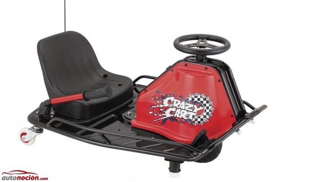 ¿Conoces Razor Crazy Cart?