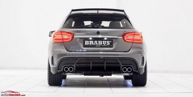 BRABUS le mete mano al GLA45 AMG: 400 cv, 500 Nm de par y un sonido que merece la pena escuchar