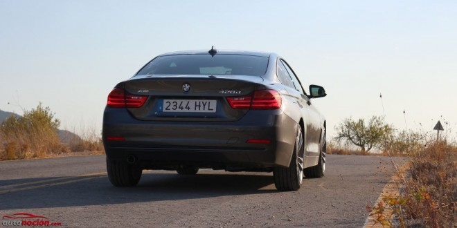 trasera bmw serie 4 coupe