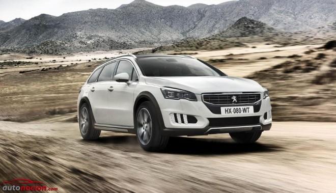Peugeot pone a la venta el 508 RXH 2.0 BlueHDi 180 CV EAT6 desde 36.900 euros