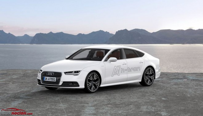 A7 Sportback h-tron quattro: La pila de combustible según Audi