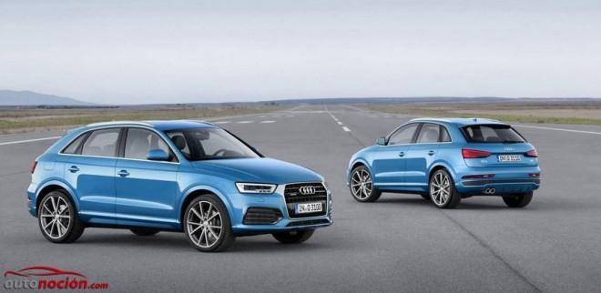 El Audi Q3 recibe una puesta al día en estética y motores