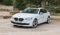 BMW 730d blanco