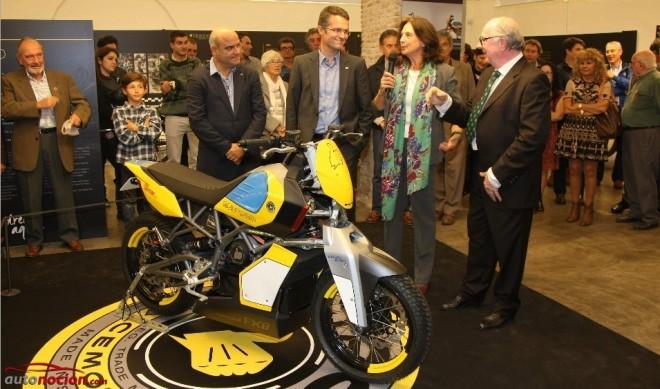 Exposición temporal Bultaco en el museu de la moto de Barcelona