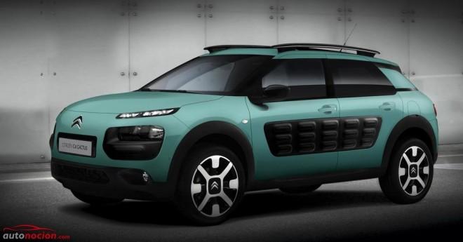 El tricilíndrico PureTech 110 cv S&S llega al Citroën C4 Cactus