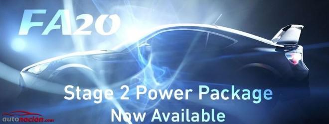 Cosworth nos muestra el Stage 2 Power Package para el motor FA20 del BRZ y del GT-86