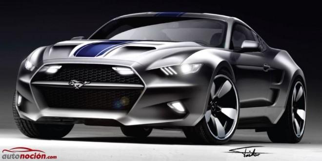 "Ford Mustang ""ROCKET"": 735 cv que definen al American Muscle Car definitivo"