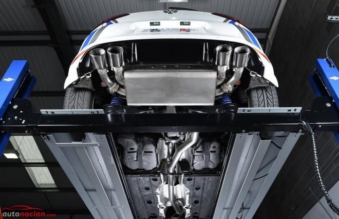 Milltek le mete mano al escape del Golf R: Así suena ahora la bestia de Volkswagen