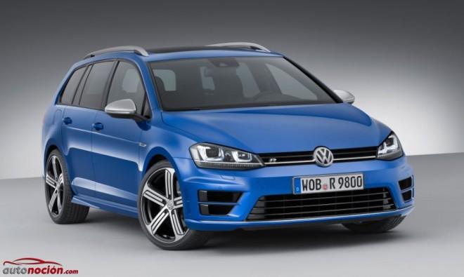 Volkswagen Golf R Variant: 300 cv con capacidad para la familia y el ocio