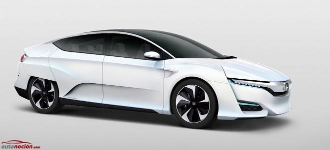 Honda perfecciona la pila de combustible con el Honda FCV Concept