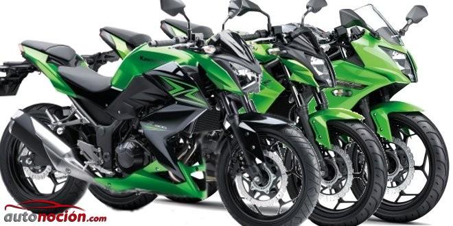 Kawasaki z300, z250sl y ninja 250sl: Perfectas para novatos