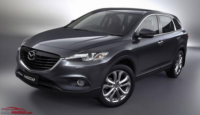Así es el nuevo Mazda CX-9: El SUV de lujo nipón