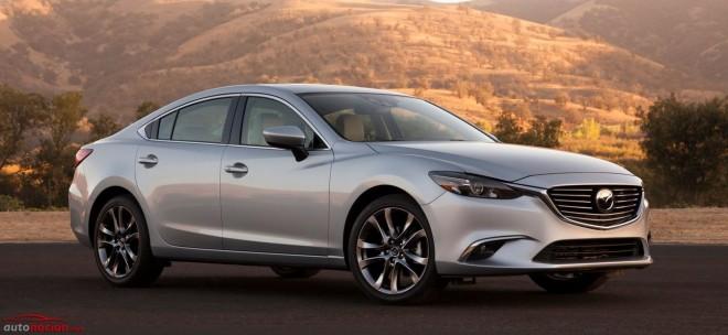 Mazda le pega un lavado de cara al Mazda6, ¿demasiado pronto para el restyling?