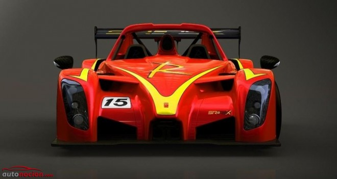 Radical SR8 RSX: Esto es lo que pasa cuando un V8 de 446 cv está diseñado para mover 860 Kg