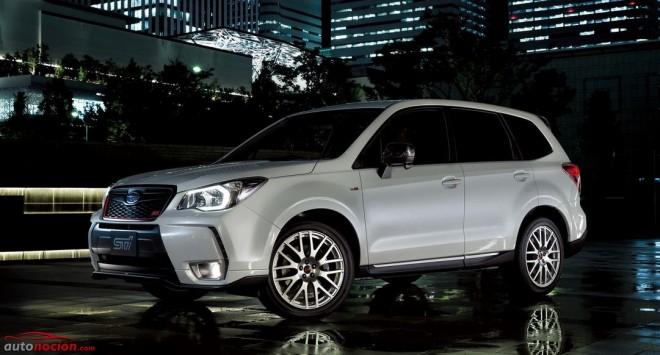 Subaru Forester tS: 300 unidades limitadas a Japón de una bestia de 280 cv retocada por STI