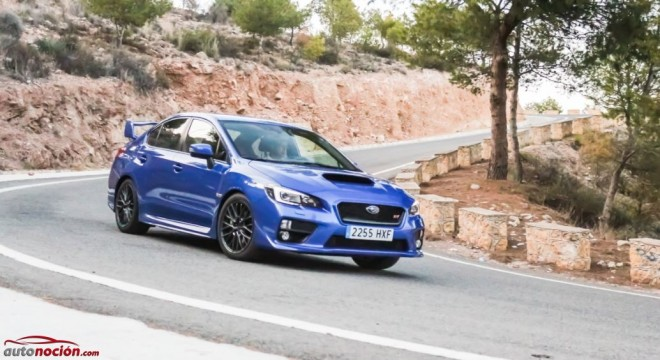 Prueba Subaru WRX STI: 300 cv más refinados que nunca y ahora, únicos en su especie