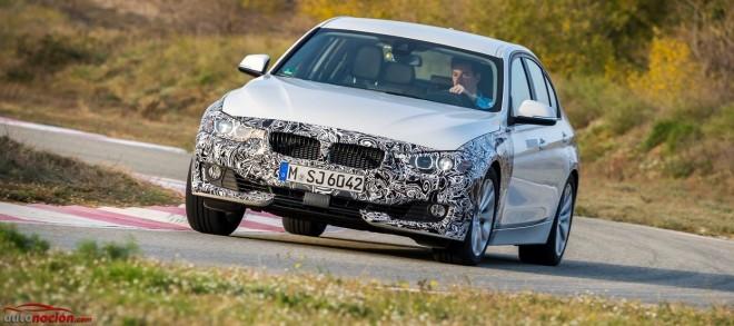Primeros detalles sobre el prototipo del BMW Serie 3 híbrido plug-in