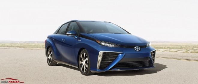 """Toyota ha visto el futuro, y se llama """"Mirai"""": La pila de combustible más cerca que nunca"""