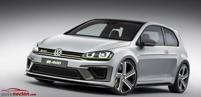 Volkswagen Golf R 400, una realidad el próximo año