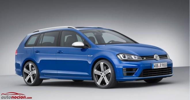 El Volkswagen Golf R Variant partirá de los 42.925 euros en Alemania: ¿Demasiado caro?