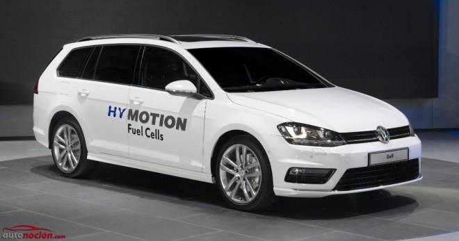 Volkswagen Golf SportWagen HyMotion: Cuando el hidrógeno se deja caer en el Golf