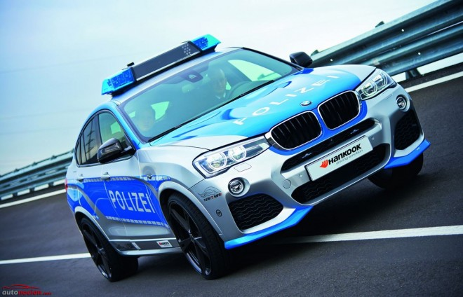 BMW X4 20i by AC Schnitzer: Ser policía en Alemania tiene sus ventajas