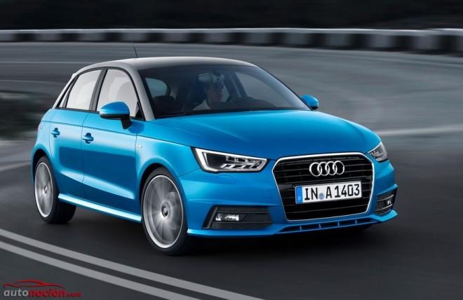 Audi le da una segunda vida al A1: Más refinamiento y nuevas motorizaciones