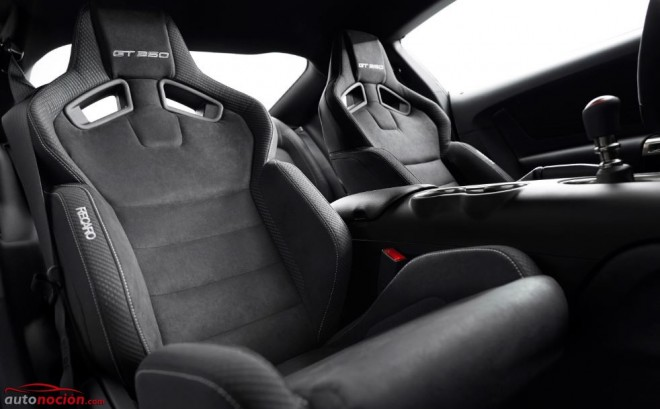 asientos recaro ford mustang shelby gt350