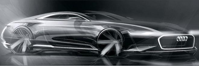 Audi A9: Un enorme coupé de 5,1 metros que plantará cara al Mercedes Clase S coupé