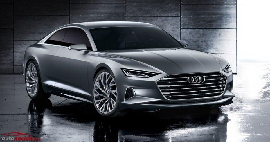 Audi nos muestra el Prologue: El anticipo del A9 también presenta la nueva cara de la marca