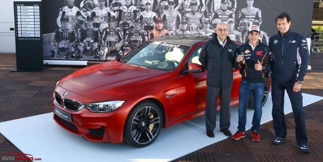 Marc Márquez gana el BMW M4 Coupé de BMW M Award 2014